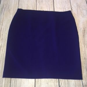 Alfani Classic Blue Pencil Skirt - 16